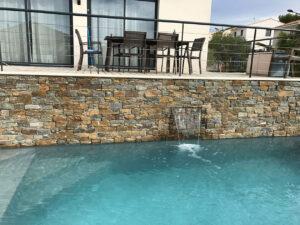 agencement exterieur panel stone gneiss