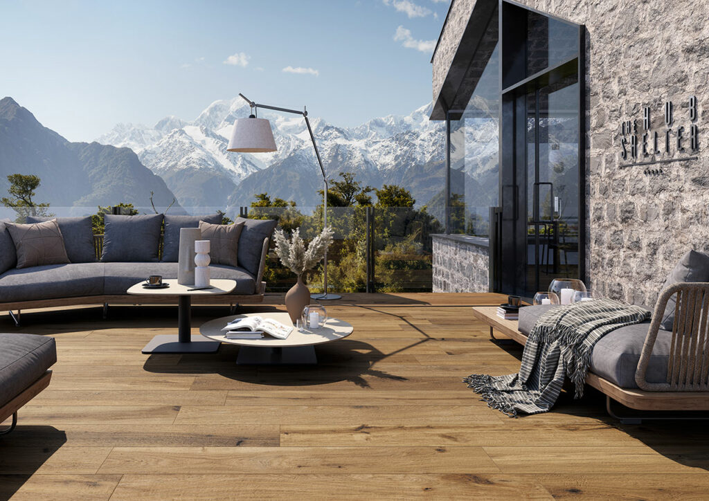 aménagement extérieur bois timeless