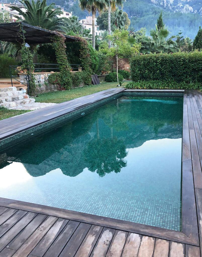 piscine bali mosaïque verte